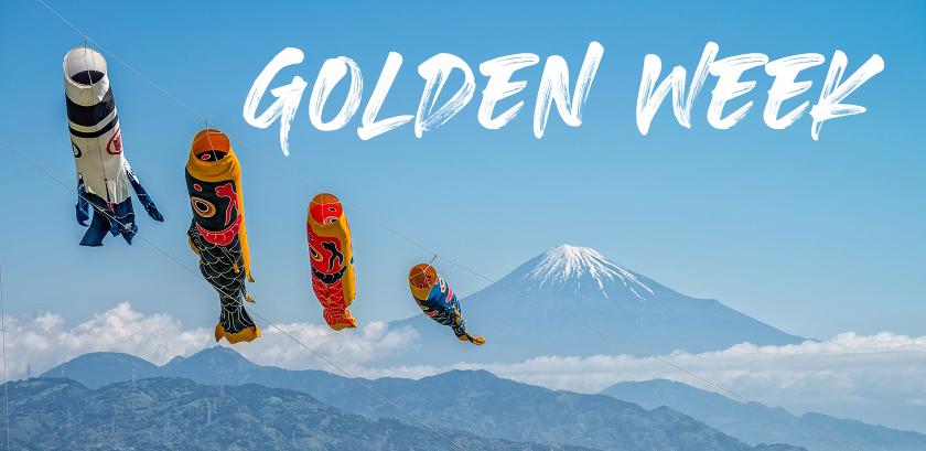 TUẦN LỄ VÀNG GOLDEN WEEK!